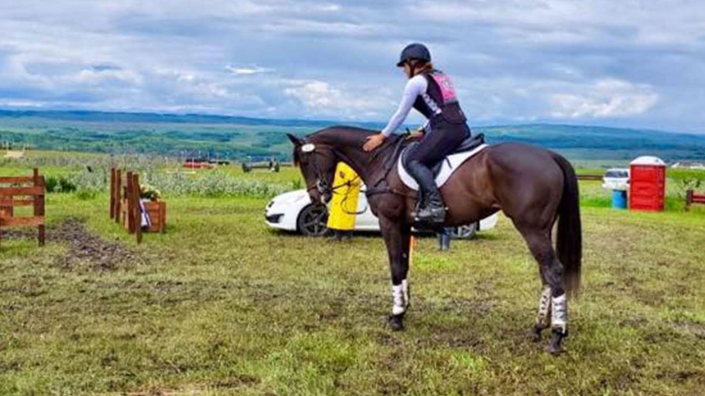 Canadian equestrian rider and horse tragically die after fall