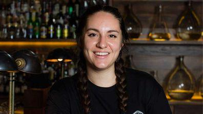 Senior distiller Samantha Stefani