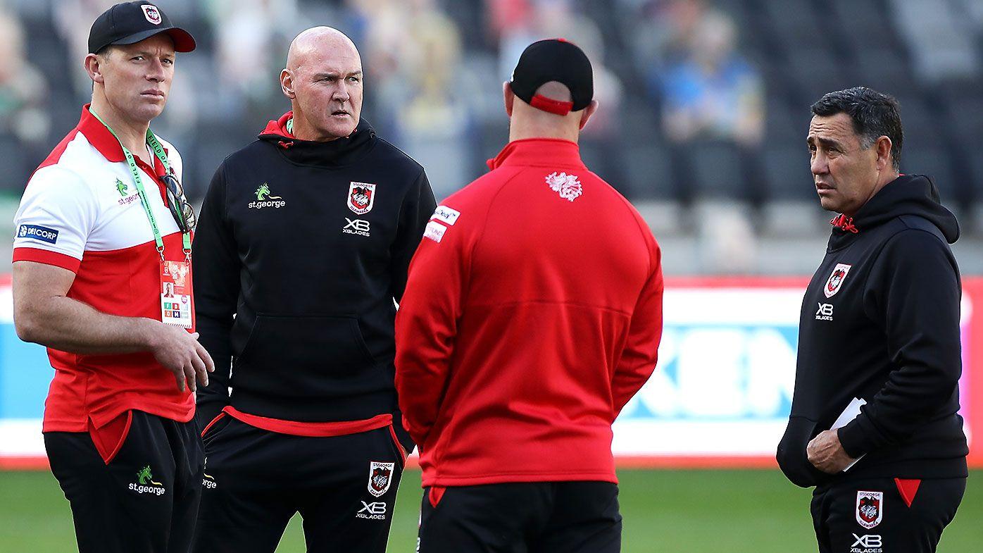 Paul Gallen warns Dragons against 'unfair' coaching move amid McGregor drama