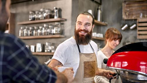 Baristas are among Australia's fastest-growing occupations. (Getty)