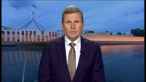 Nine Network's political editor Chris Uhlmann slammed Anning's decision to appear at a Qld gun show less than two days after the Christchurch mosque massacre.