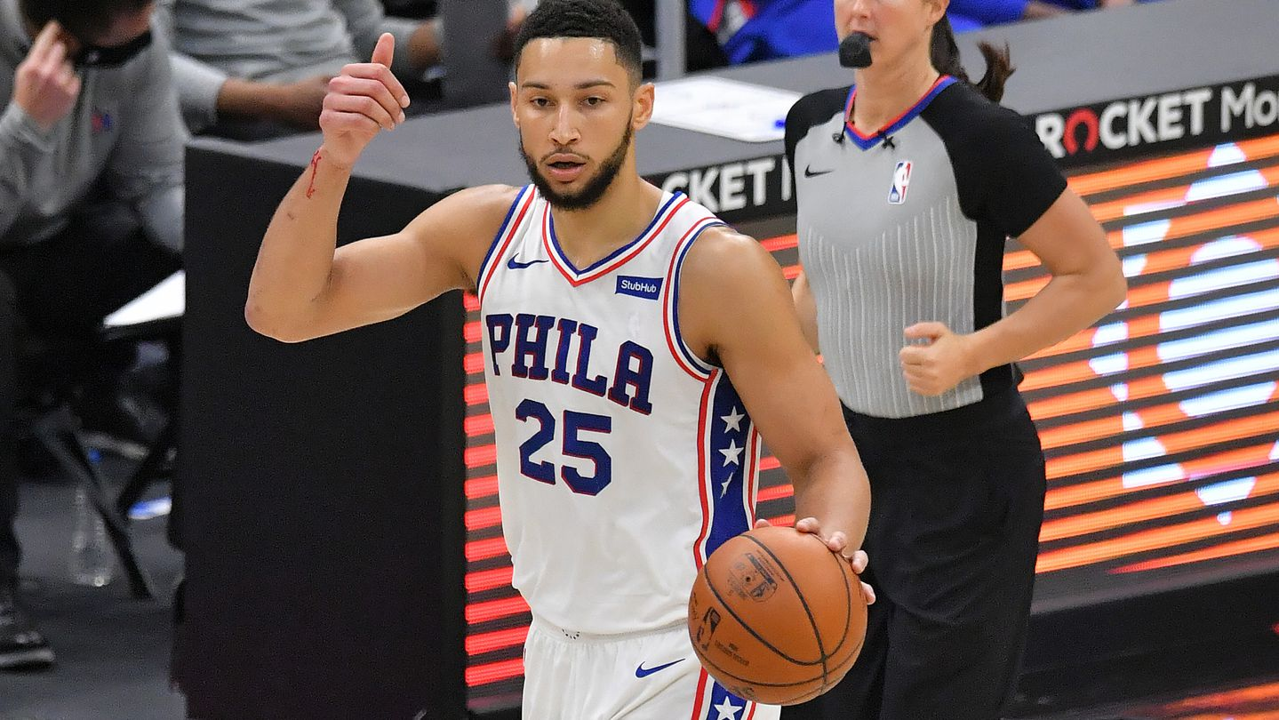 Ben Simmons of the Philadelphia 76ers.