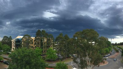 Strong storms sweeping parts of Sydney's west