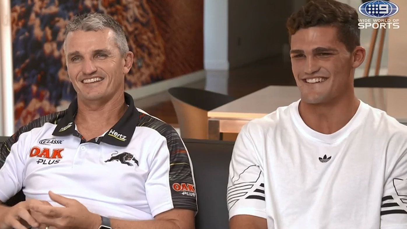 Nathan and Ivan Cleary reveal highs and lows since joining forces at Penrith Panthers