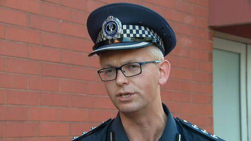 Inspector Mark Hubbard.