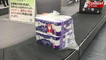 Toilet paper panic on full show
