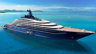 World's largest yacht: The build, design and outfitting cost of the upcoming project is to be around $600 million.