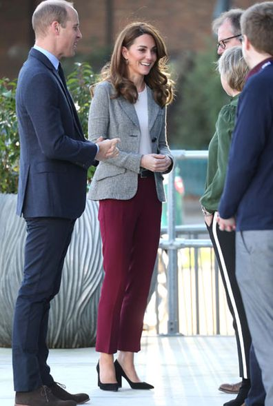 Prince William Kate Middleton attend Shout's Crisis Volunteer celebration event at the Troubadour White City Theatre 4