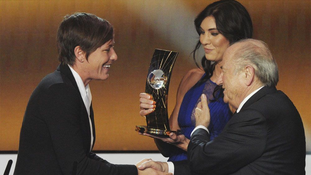 Sepp Blatter accused of sexual harrassment by US goalkeeper Hope Solo