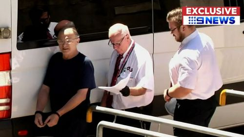 It's understood the accused is refusing to eat provided food. (9NEWS)