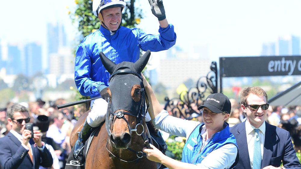 Oceanographer has surged into Melbourne Cup reckoning. (AAP)