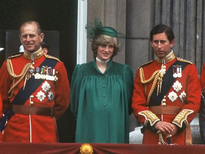 Diana attends days before William's birth, 1982
