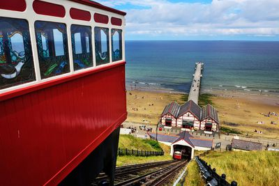 Saltburn by the Sea in North Yorkshire