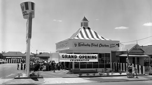 Fast food chicken chain KFC has been in Australia 50 years. Picture: Supplied.