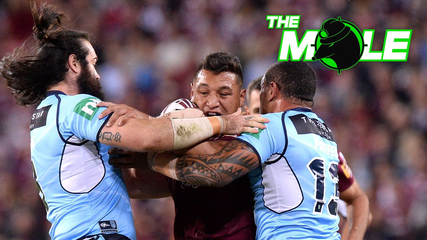 Queensland State of Origin forward Josh Papalii