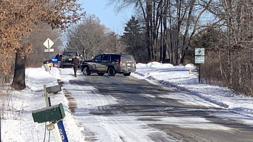 Local sheriffs are investigating an apparent shooting with multiple victims in northern Kent County, Michigan