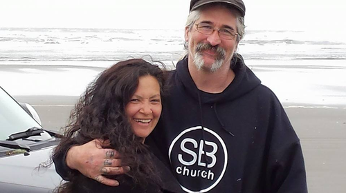 Denise Porter gave a tearful testimony at the inquest into her fisherman husbands death, recalling her final text messages to him as the Mary B II sank off the Oregon coast.