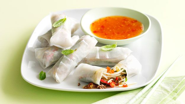 Rice paper roll recipes