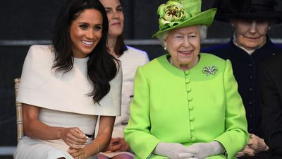 Queen Elizabeth's first royal outing with Meghan Markle, June 2018