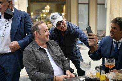 Kevin Spacey in Turin, Italy