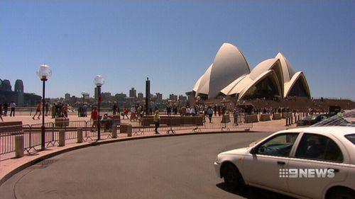 The Sydney Opera House. (9NEWS)