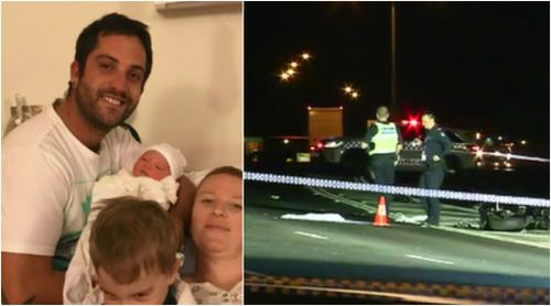 Tributes are flowing for young father Michael McInnes. (9NEWS)