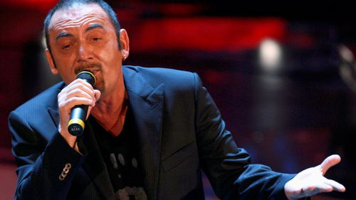 Star Italian singer utters 'excuse me' on stage before dying from heart attack