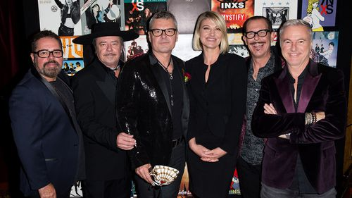 INXS enjoyed popularity as a seminal Australian rock band. (60 Minutes)