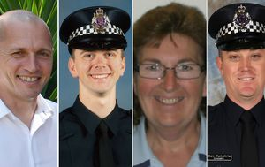 Four police officers killed in Eastern Freeway tragedy remembered on Police Remembrance Day