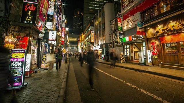 Take a time-lapse tour of Tokyo