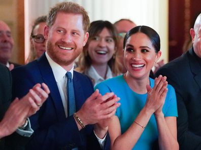 Duke and Duchess of Sussex at the Endeavour Fund Awards