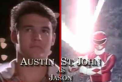 Austin St John: The Red Ranger/Jason Lee Scott<br/><br/>Image: Saban Entertainment