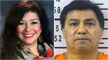 Houston police sergeant Hilario Hernandez has been arrested over the death of his wife Belinda on Saturday.
