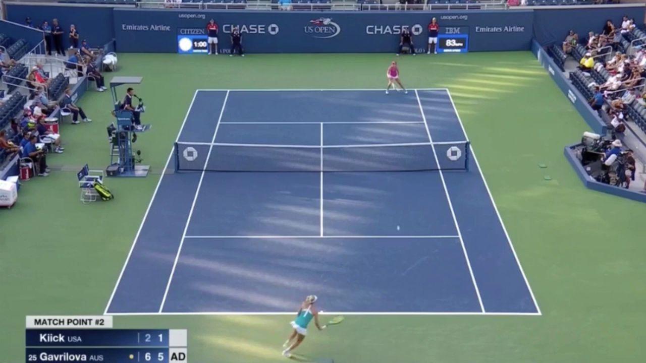 Dasha into R2 at US Open