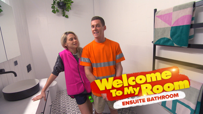 Exclusive: Tess and Luke defend the size of their ensuite
