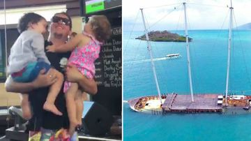 Dad going blind selling tourist business to travel with kids