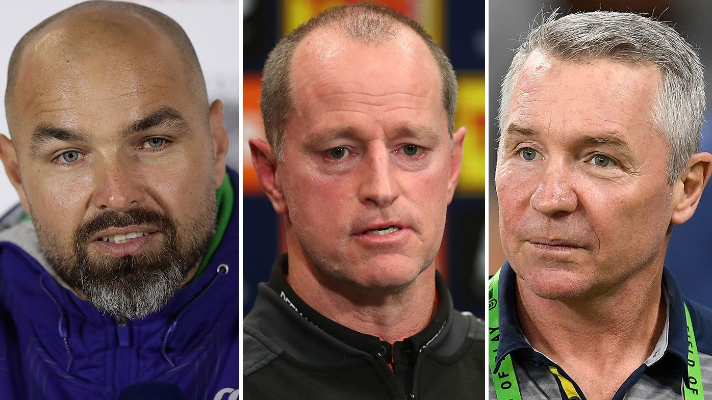 Phil Gould blasts NRL managers over handling of vacant coaching positions