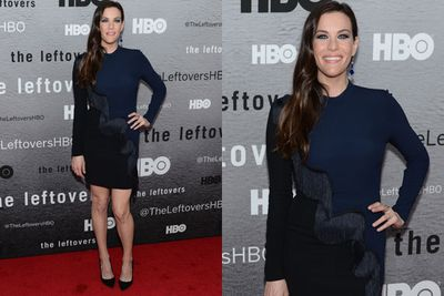 And when we say smokin' co-stars, we mean blue-eyed babe Liv Tyler.