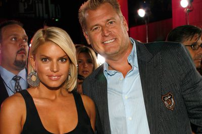 "Joe Simpson, father to Jessica and Ashley Simpson, is a former Baptist Minister turned creepy stage Dad. In fact, Joe is pretty much The Father of parental creepiness. <br/><br/>In 2004, he famously decided to comment on daughter Jessica's…erm...well-endowed physique, saying: ""Jessica never tries to be sexy. … She just is sexy. If you put her in a T-shirt or you put her in a bustier, she's sexy in both. She's got double D's! You can't cover those suckers up!"" Ok, ew."