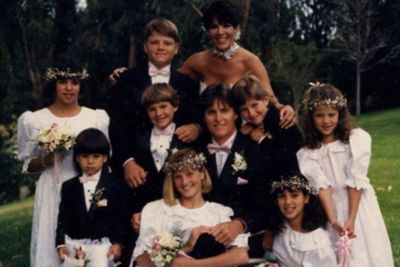 After her parent's divorced, mother Kris married Olympian Bruce Jenner.
