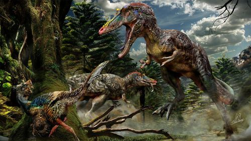 Bad timing wiped out the dinosaurs: study