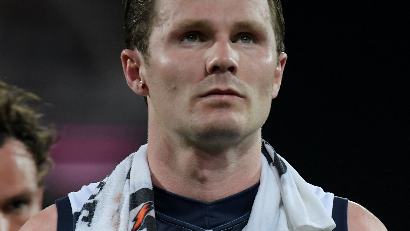 Patrick Dangerfield slams AFL tribunal for double-standards in umpire contact