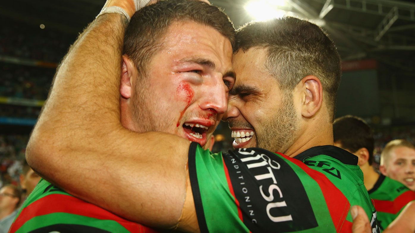 South Sydney great Sam Burgess reveals he almost lost his eye in iconic grand final moment