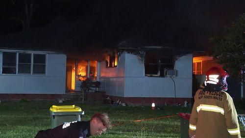 Sadleir house fire