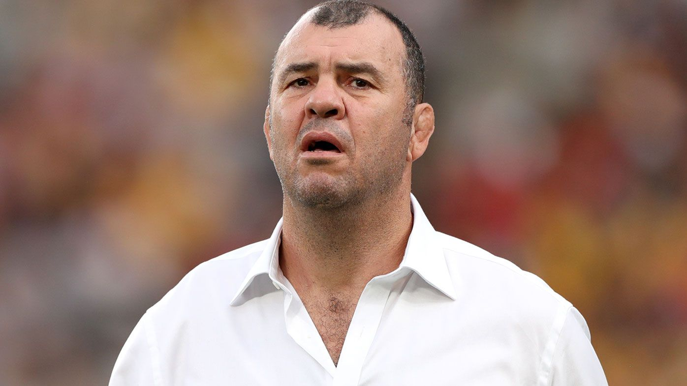 Wallabies coach Michael Cheika bites back at England coach Eddie Jones before World Cup quarter final