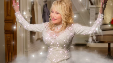Dolly is at her delightful best in 'Christmas on the Square'.