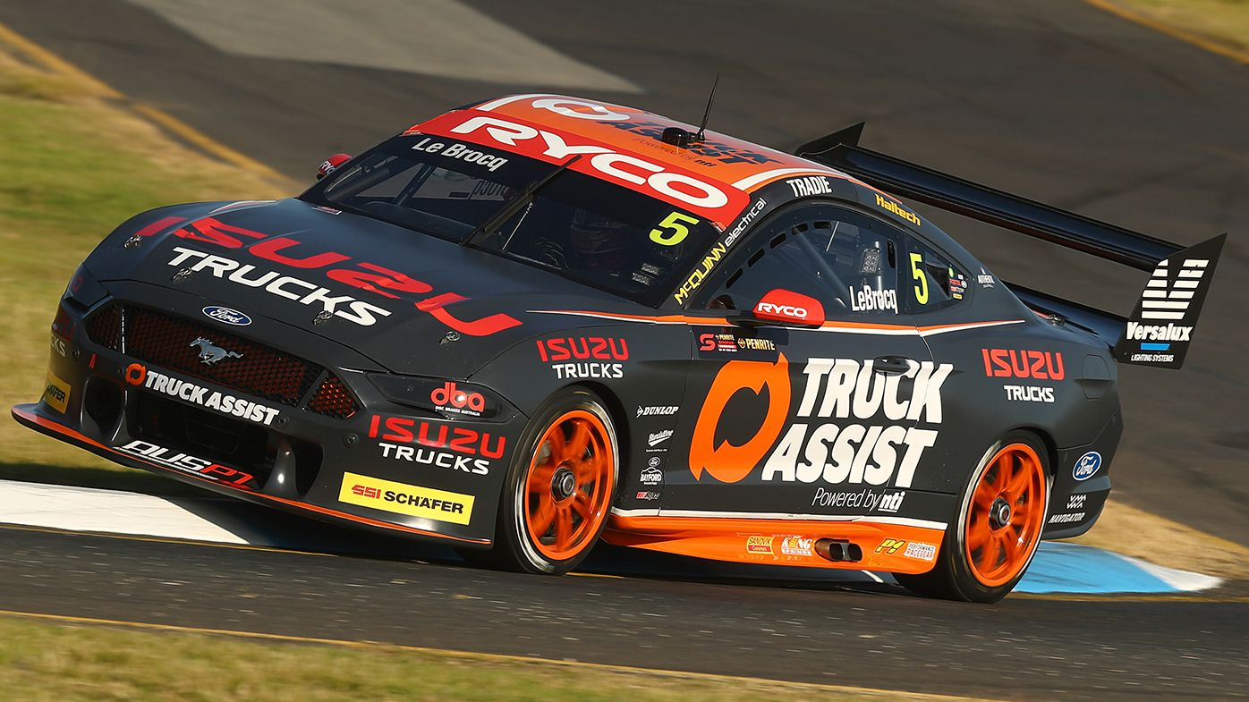 Jack Le Brocq is in his first season with Tickford Racing.