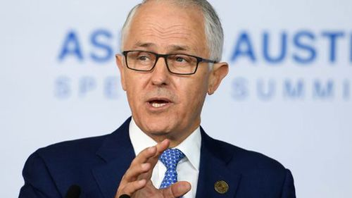"""""""The people have spoken in favour of our policies,"""" Mr Turnbull said. (AAP)"""