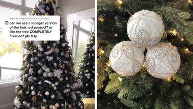 Christmas tree hack mymoderndecor TikTok