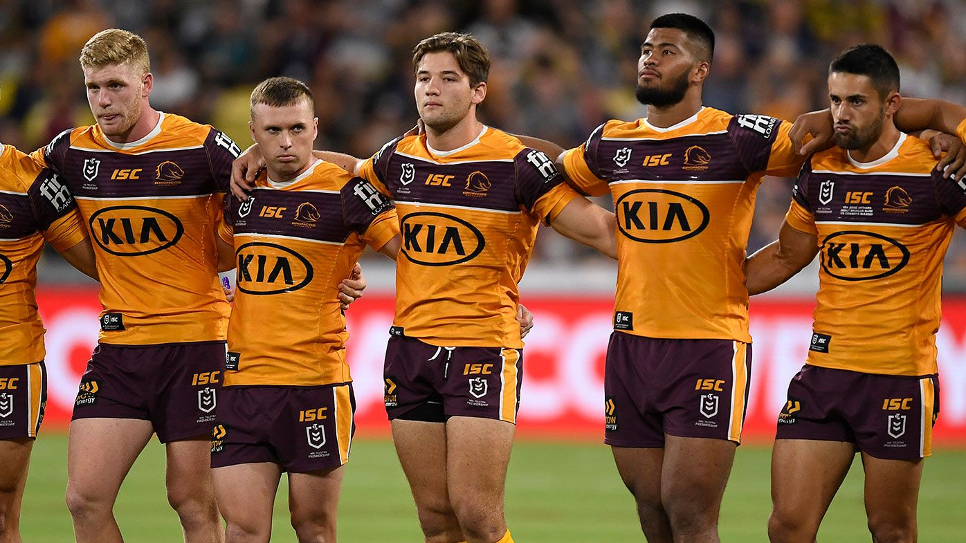 Brisbane Broncos in a fight for survival during coronavirus pandemic